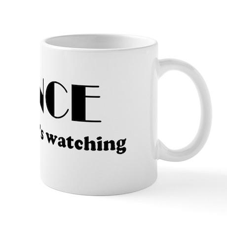 """""""DANCE like nobody's watching"""" Mug"""