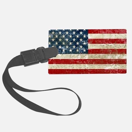 USA Patriotic Large Luggage Tag