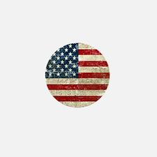 USA Patriotic Mini Button