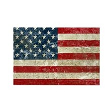 USA Patriotic Rectangle Magnet