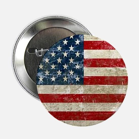 "USA Patriotic 2.25"" Button"