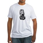 Chicks Dig Cleaning Stuff Fitted T-Shirt