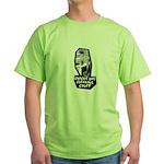 Chicks Dig Cleaning Stuff Green T-Shirt