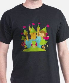 Brunette Frog Princess T-Shirt