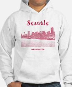 Seattle_10x10_SeattleWatefront_v Hoodie