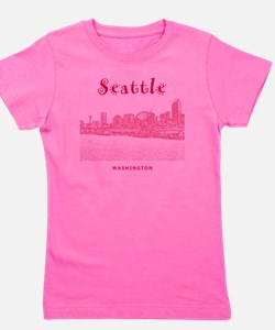 Seattle_10x10_SeattleWatefront_v2 Girl's Tee