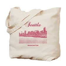 Seattle_10x10_SeattleWatefront_v3 Tote Bag