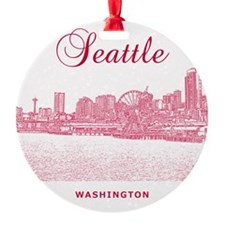 Seattle_10x10_SeattleWatefront_v3 Ornament