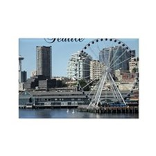Seattle_9.5x8_Mousepad_SeattleWat Rectangle Magnet
