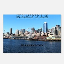 Seattle_11x9_SeattleWater Postcards (Package of 8)