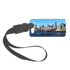 Seattle_11x9_SeattleWaterfront Luggage Tag