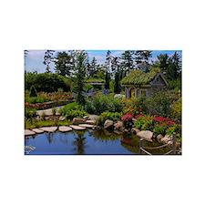 Coastal Maine Botanical Garden Rectangle Magnet