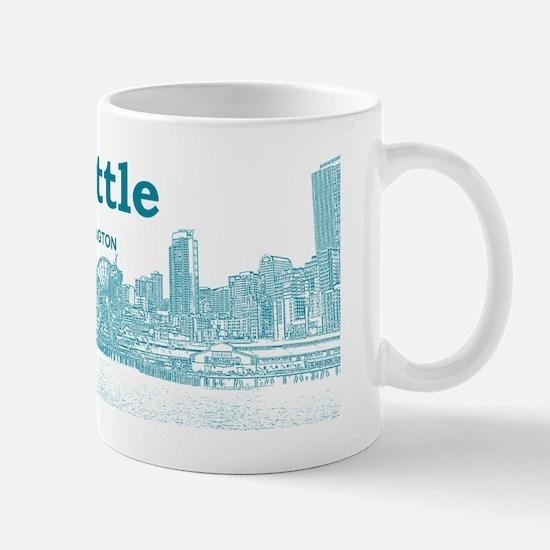 Seattle_12.125x6.125_LicencePlate_Seatt Mug
