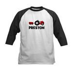 Tractor - Preston Kids Baseball Jersey