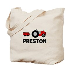 Tractor - Preston Tote Bag
