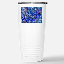 Extra Wild Paisley Stainless Steel Travel Mug