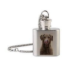 Chesapeake Bay Retriever Flask Necklace