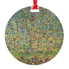 Apple Tree by Gustav Klimt, Vintage Ornament