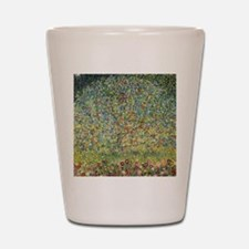 Apple Tree by Gustav Klimt, Vintage Art Shot Glass
