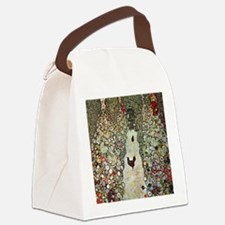 Gustav Klimt Garden Path with Chi Canvas Lunch Bag