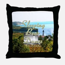 sleepingbearsq Throw Pillow