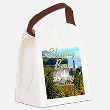 sleepingbearsq Canvas Lunch Bag