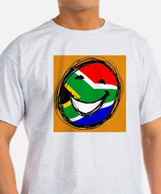 South African flag smiley T-Shirt