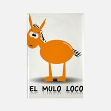 EL MULO LOCO Rectangle Magnet