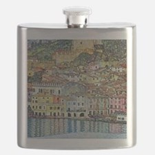 Gustav Klimt, Malcesine on Lake Garda Flask