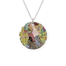 Gustav Klimt, Lady with Fan, Necklace