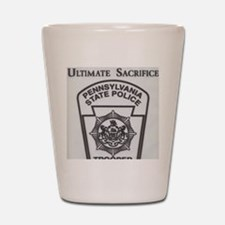 Helping Pennsylvania State Police Shot Glass