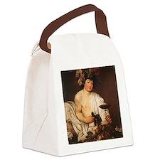 Bacchus, Caravaggio Canvas Lunch Bag