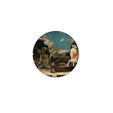 St. George and the Dragon, Ucello Mini Button