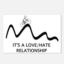 Cyling : Love Hate Relati Postcards (Package of 8)