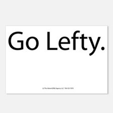 Go Lefty Postcards (Package of 8)