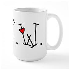 MSW Hearts Ceramic Mugs