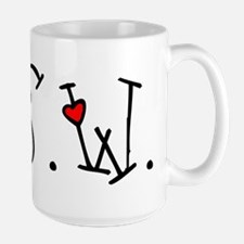 MSW Hearts Ceramic Mugs