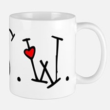 MSW Hearts Small Mugs