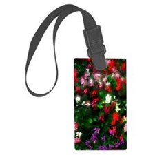 Painted Garden Luggage Tag