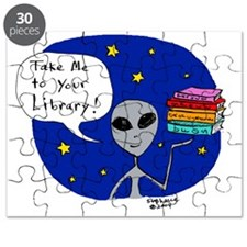 Take Me To Your Library Puzzle