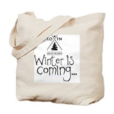 new_winteriscoming Tote Bag