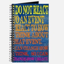 I can change how I reaction Poster Journal