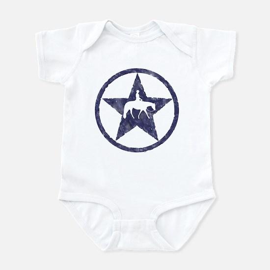 Western pleasure star Infant Bodysuit