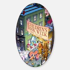 2012 Childrens Book Week Sticker (Oval)