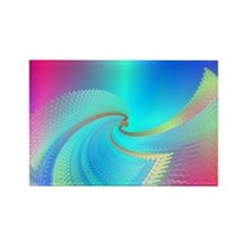 Ice Cool Rectangle Magnet