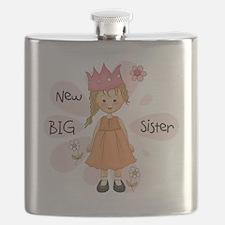 Blond Princess Big Sister Flask