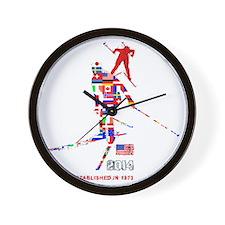 Birkie T 2014 Wall Clock