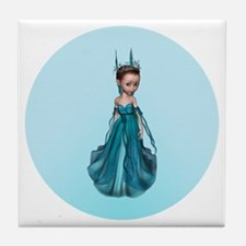Blue Fairy Tile Coaster