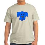 Puppy Dog Design (Dogs Blue) Light T-Shirt