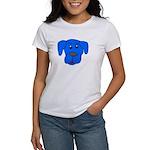 Puppy Dog Design (Dogs Blue) Women's T-Shirt